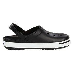 NWT - Crocs Crocband II Black & White - SZ 9